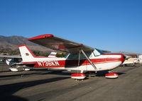 N736KN @ SZP - 1977 Cessna R172K @ Santa Paula Airport, CA - by Steve Nation