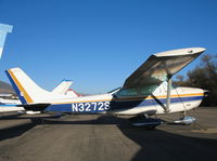 N3272S @ SZP - 1964 Cessna 182G @ Santa Paula Airport, CA - by Steve Nation