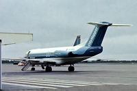 PH-BBV @ EHAM - Fokker F.28 4000 Fellowship [11127] (NLM CityHopper) Amsterdam-Schiphol~PH 16/04/1978. From a slide.