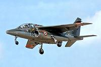 E2 @ EGLF - Dassault-Dornier Alpha Jet E [E2] (French Air Force) Farnborough~G 10/09/1978. From a slide. Written off 5 days later. - by Ray Barber