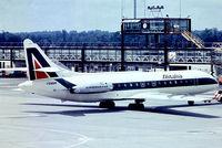 I-DABM @ EGKK - Sud Aviation SE.210 Caravelle VIN [143] (Alitalia) Gatwick~G 01/07/1974. From a slide.