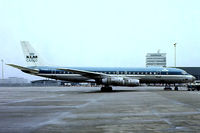 PH-DCZ @ EHAM - Douglas DC-8-55F [45804] (KLM-Royal Dutch Airlines Cargo) Amsterdam-Schiphol~PH 12/05/1979. From a slide.
