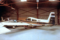 F-GATT @ LFPX - Grumman American AA-5B Tiger [AA5B-0651] Chavenay~F 13/09/1980. From a slide.