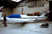 F-BXQL @ LFPB - Morane-Saulnier MS.760B Paris II [105] Paris Le-Bourget~F 13/06/1981. From a slide rebuild completed.