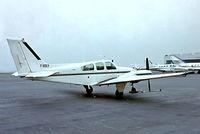 F-BOEY @ LFPB - Beech 95-C55 Baron [TE-249] Paris Le-Bourget~F 14/09/1980. From a slide.
