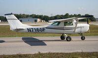 N7160F @ LAL - Cessna 150F
