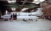 F-BRNL @ LFPB - Learjet 24B [24-183] (Euralair International) Paris Le-Bourget~F 13/06/1981. From a slide.