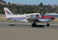 N1109X @ KCCR - 1975 Piper PA-28-180 Cherokee Archer taxiing @ Buchanan Field, Concord, CA - by Steve Nation