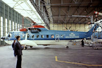 PH-NZG @ EHAM - Sikorsky S-61N [61753] (KLM Helicopters) Amsterdam-Schiphol~PH 12/05/1979/. From a slide different KLM markings.