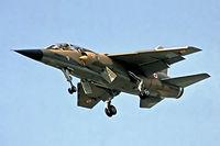 F-ZJTJ @ EGLF - Dassault Mirage F.1BD [10] (French Air Force) Farnborough~G 10/09/1978. From a slide.