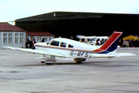 G-BFSY @ EGDY - Piper PA-28-181 Archer II [28-7890200] RNAS Yeovilton~G 05/08/1978. From a slide. - by Ray Barber