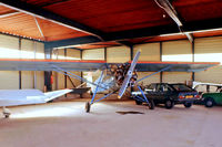 F-BARP @ LFPX - Morane-Saulnier MS.505 Criquet [496/10] Chavenay-Villepreux~F 13/09/1980. From a slide.