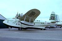 F-OBIP @ LFPB - Short S.25 Sandringham 7 [SB.2022] Paris Le-Bourget~F 13/06/1981. From a slide.