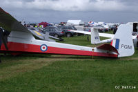 BGA3250 @ EGPT - On display in the static park during the Heart of Scotland Airshow held at Perth (Scone) airfield EGPT - by Clive Pattle