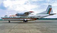 LZ-BAF @ EHRD - Antonov An-12B [402408] (Balkan Bulgarian Air Cargo] Rotterdam~PH 11/08/2000