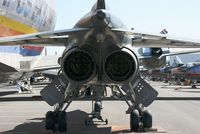 A4 @ LFBO - Sepecat Jaguar A, rear view, Preserved at Les Ailes Anciennes Museum, Toulouse-Blagnac (LFBO) - by Yves-Q