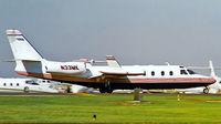 N33MK @ KNEW - IAI 1124 Westwind II [374] New Orleans-Lakefront ~N 10/10/2000
