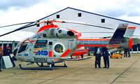 N9201U @ EGSU - McD-D Helicopters MD-900 Explorer [900-00042] (Eastern Atlantic Helicopters) Duxford~G 27/09/2001