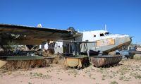 N13598 @ DMA - HU-16 in a scrapyard - by Florida Metal