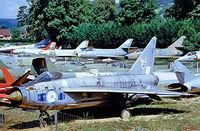 XM178 - English Electric Lightning F.1A [95065] (Royal Air Force) Savigny-les-Beaune~F 24/07/1998