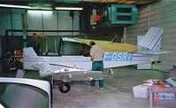 F-GSRT @ LFGI - Robin DR.400/180 Regent [2399] Dijon-Darois~F 24/07/1998. Under construction.
