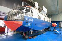 F-ZWWE @ LFPB - SNCASE SE 3210 Super Frelon, Preserved at Air and Space Museum, Paris-Le Bourget (LFPB-LBG) - by Yves-Q