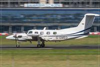 G-GMED @ EDDR - Piper PA-42-720 Cheyenne III - by Jerzy Maciaszek