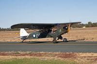 24-4633 @ YECH - J-3C-65 (L-4C) Cub c/n 11891 - by Arthur Scarf
