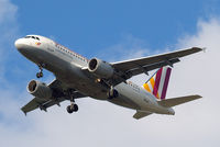 D-AKNK @ EGLL - Airbus A319-112 [1077] (Germanwings) Home~G 30/04/2015. On approach 27R.