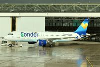 D-AICD @ EDDL - Rain has gone and CONDOR´s Delta appears in sunlight.... - by Holger Zengler