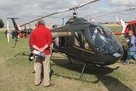07QL @ LFOQ - Italian LCA Helicopter LH212 , ULM salon Blois. - by Raymond De Clercq
