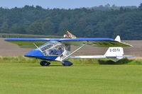 G-CDFA @ X3CX - Just landed at Northrepps. - by Graham Reeve