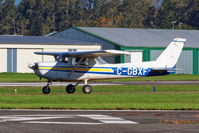 C-GBXF @ CYNJ - Holding short - by Guy Pambrun
