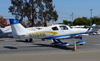 N1134N @ KRHV - Isom Land and Cattle Company LLC (New York, NY) Cessna 400 parked on the Trade Winds ramp at Reid Hillview Airport, San Jose, CA. - by Chris Leipelt
