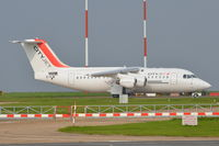 EI-RJW @ EGSH - Parked at Norwich. - by Graham Reeve