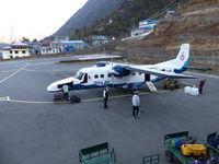 9N-AHR @ VNLK - Sita Air 9N-AHR @ Tensing-Hillary Airport Lukla - by e-voyageur