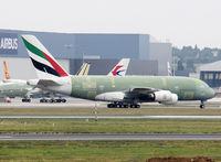 F-WWAQ @ LFBO - C/n 0203 - For Emirates - by Shunn311