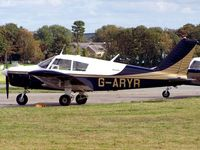 G-ARYR @ EGFE - PA-28-180 Cherokee - by Paul Massey