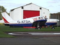 G-ATDA @ EGBO - Visiting Aircraft. EX:-EI-AME - by Paul Massey