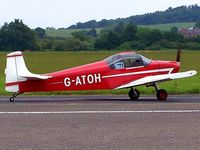 G-ATOH @ EGBO - Visitor to Halfpenny Green - by Paul Massey