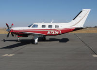N135FL @ KPRB - 2002 Piper PA-46-500TP on visitor's ramp @ Paso Robles Airport, CA - by Steve Nation