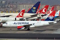 YU-APC @ LTBA - Airbus A319-131 [2621] (Air Serbia) Istanbul-Ataturk~TC 18/04/2015