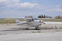 5B-CIY @ LGSM - Parked at Samos  International Airport - by Socrates Karamichalis