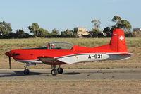 A-931 @ LMML - Pilatus PC-7 A-931 Swiss Air Force - by Raymond Zammit