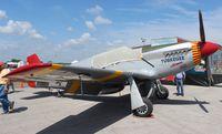 N61429 @ EVB - Tuskeegee P-51C