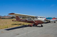 N46382 @ E16 - Locally-based 1968 Cessna 172K sitting at its tie down at South County Airport, San Martin, CA. - by Chris Leipelt