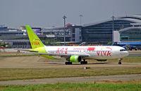 B-MAW @ VVTS - Boeing 767-38EER [24798] (Viva Macau) Ho Chi Minh-Tan Son Nhat International~VN 01/11/2009 - by Ray Barber