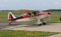 N7641K @ KUNU - Piper PA-20