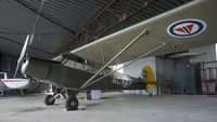 LN-ACJ @ ENKJ - this aircraft was seen in a hangar at the airfield - by Gerrit van de Veen