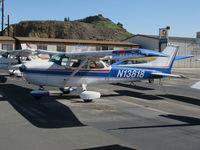 N13818 @ KWHP - Locally-based 1974 Cessna 172M Skyhawk @ Whiteman Airport, Pacoima, CA - by Steve Nation